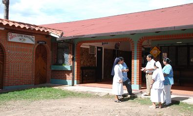 The dermatological hospital in Monteagudo, Bolivia is one of the many hospitals backed by the DAHW.